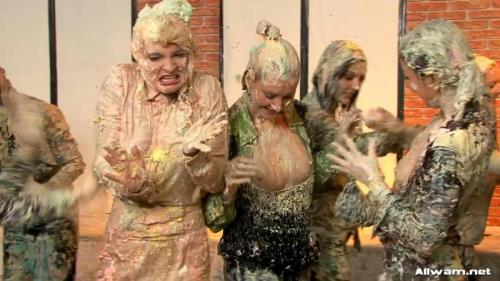 Cake Fight – Barbara Summer, Christina Lee, Susan Snow. 22.05.2010. AllWam.net (876 Mb)