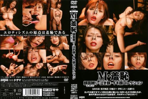 [DDT-208] M・羞恥 顔面嬲り(鼻・眼球・舌)泣き顔・イキ顔コレクション Sakurai Fuuka, Yumesaki Koyoi, Miyachi Nana Humiliation