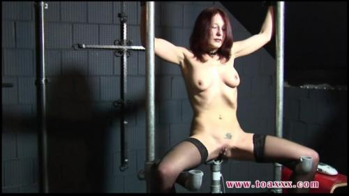 Electro Torture for Melanie in the Dungeon (TX272). Oct 05 2016. Toaxxx.com (170 Mb)