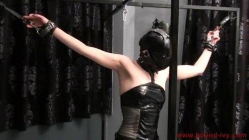 Gagged and hooded (Ivy0315). Bound-ivy.com (46 Mb)