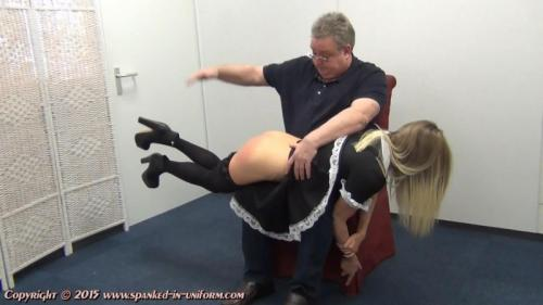 The Sexy Maid Cleaning Agency Episode Twelve – No Granny Knickers. Spanked-in-uniform.com (270 Mb)