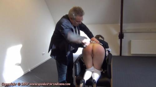 The Sexy Maid Cleaning Agency Episode Twenty One – No Mobile At Work! Part Two. Spanked-in-uniform.com (120 Mb)