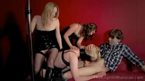 Pimped On The Pole – Mistress Sidonia And Mistress T. TheEnglishMansion.com (192 Mb)