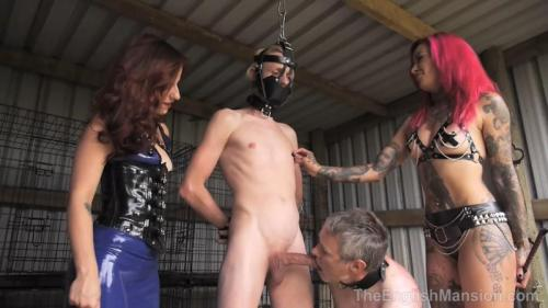 The Mansion's Summer Garden Party Part4 – Miss Annalisa, Mistress Evilyne, Mistress Lola Ruin And Mistress Sidonia. TheEnglishMansion.com (743 Mb)