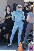 Miley Cyrus - On set in LA 10/18/18