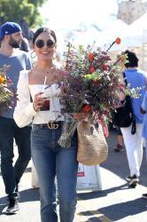 Vanessa Hudgens - At The Farmers Market in Studio City 10/21/18