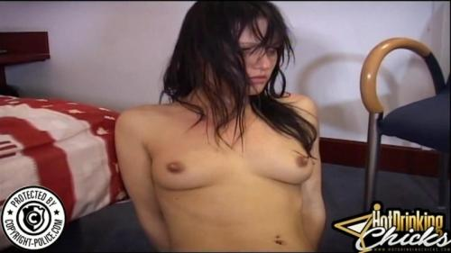 New Year's in Hungary – Lena King and Yvette Costeau. HotDrinkingChicks.com (1472 Mb)