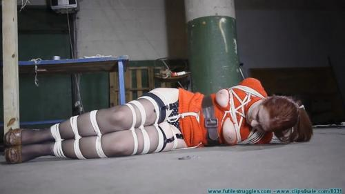 The Security Guards Hogtied and Gagged Me Then Posed with Me for Pics Like Trophy Game. Futilestruggles.com (1190 Mb)