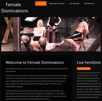 FemaleDominations (SiteRip) Image Cover