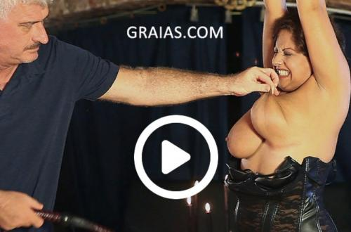 [Graias.com] The Receptionist Part №1 (21.08.2018) [2018 г., BDSM, Torture, Humiliation, Whipping, Spanking, Pain, 1080p]