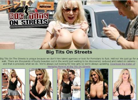 BigTitsOnStreets (SiteRip)