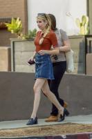 Emma Roberts - Out in Los Feliz 10/22/18