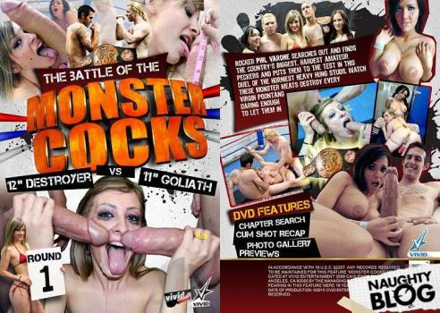The Battle Of The Monster Cocks: 12 Destroyer vs 11 Goliath