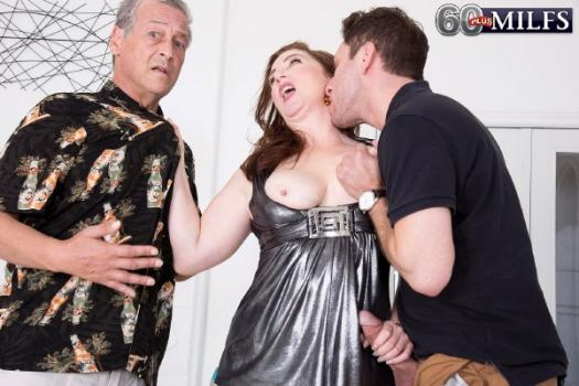 60plusmilfs/Pornmegaload - Maria Fawndeli Ass fuck grandsons friend